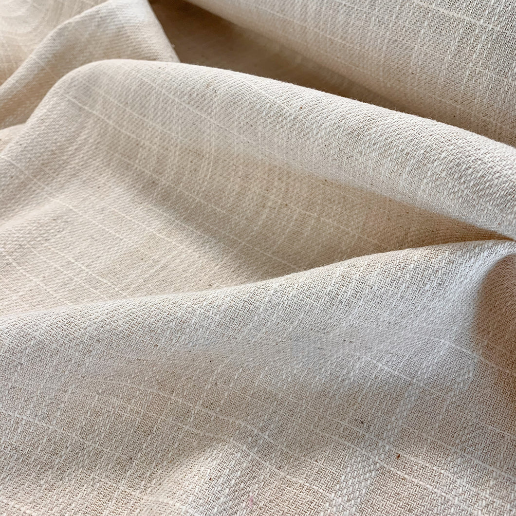 Linen Cotton Twill - Natural