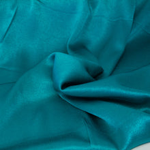 Load image into Gallery viewer, Crepe Back Satin - Aqua