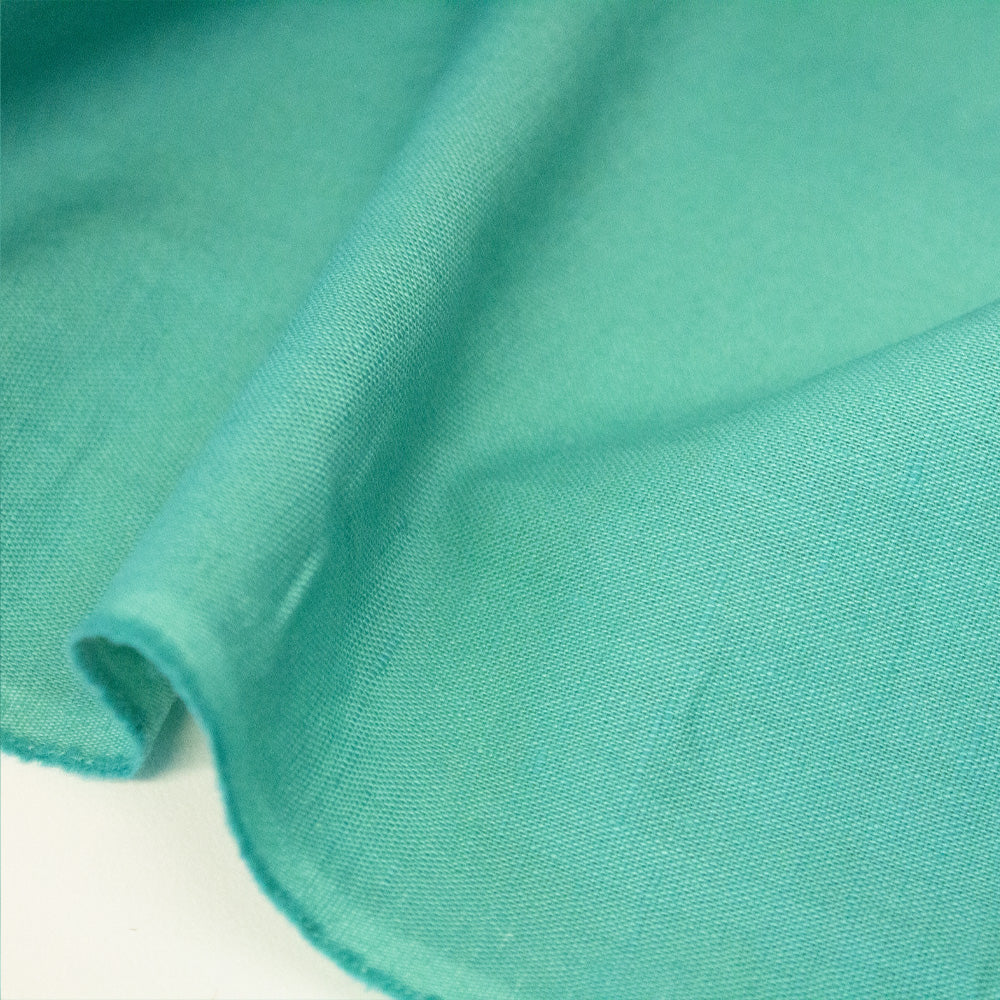 Washed Linen Cotton - Jade