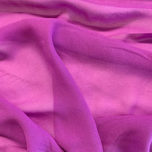 Load image into Gallery viewer, Silk Georgette - Magenta
