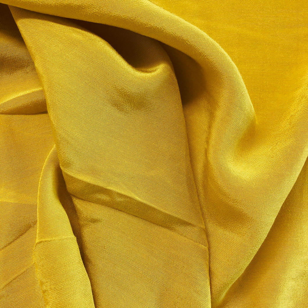 Smooth Viscose Crepe - Gold