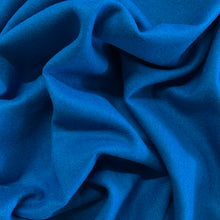 Load image into Gallery viewer, Wool Viscose Melton Coating - Turquoise