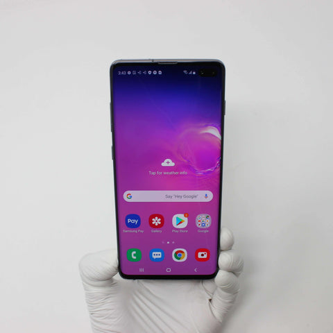 Galaxy S10 Plus 128GB Ceramic Black - AT&T