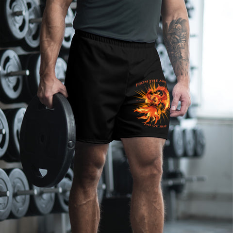 Phoenix Rising - Til Death Men's Athletic Long Shorts