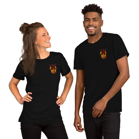 TSSC Embroidered Short-Sleeve Unisex T-Shirt - Dark Colors