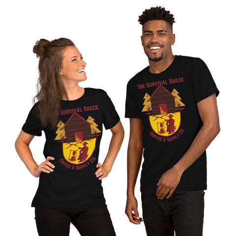 TSSC Printed Short-Sleeve Unisex T-Shirt - Dark Colors
