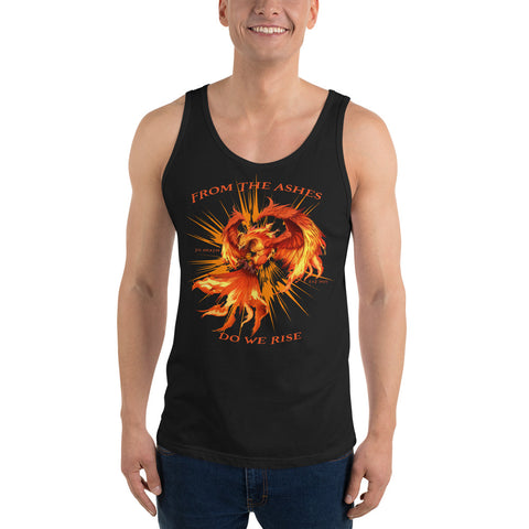 Phoenix Rising - Til Death Athletic Unisex Tank Top