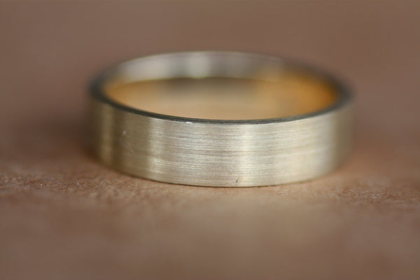 Wedding engraved Simple classic Ring Personalized ring
