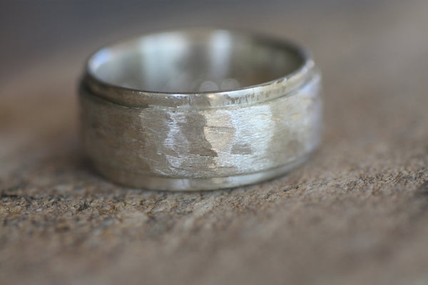 Sterling Silver Spinner band