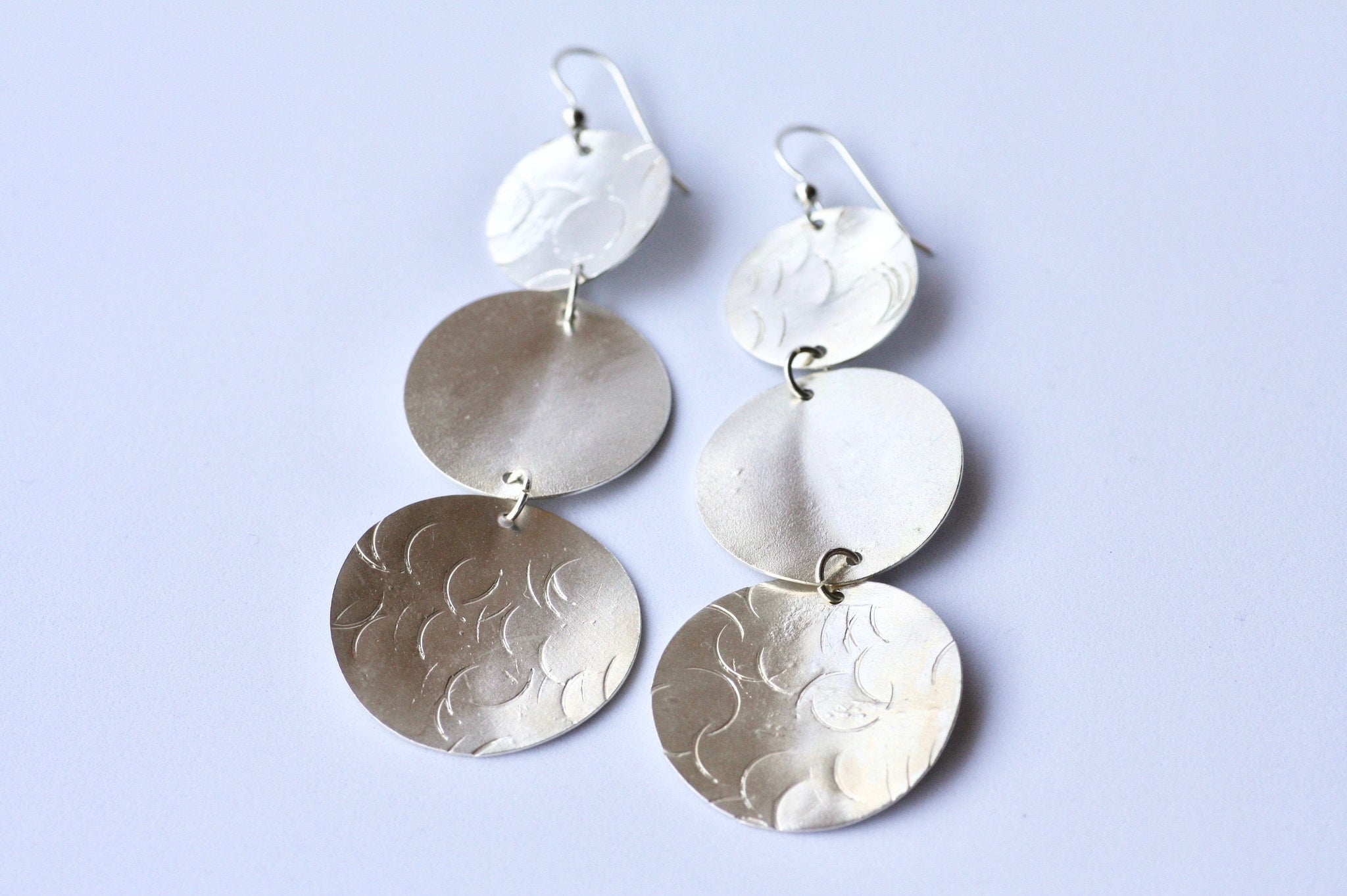 Dangle Silver earrings