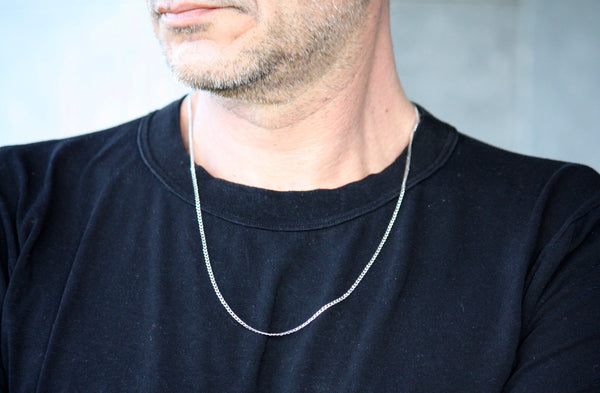 Gold Elegant Chains for Men and Women, Silver thick chains