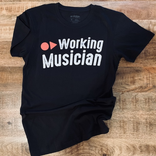 MEN'S WORKING MUSICIAN® FASHION CREW, BY AIRGIGS