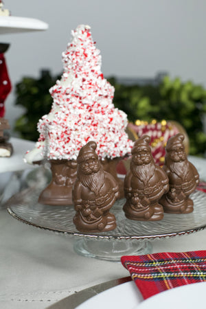 Chocolate Santa Place Setting