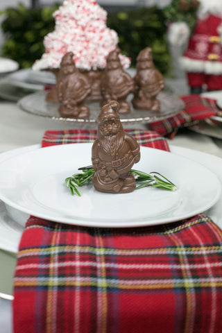 Chocolate Santa Place Setter