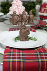 Fair Trade Chocolate Santa Place Settings (Set of 8)
