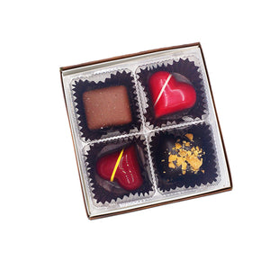 Gourmet Chocolate Assortment (4 Pieces)