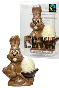 FairTrade Easter Bunny with Egg Barrel