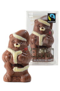 Fair Trade Chocolate Santa Bear