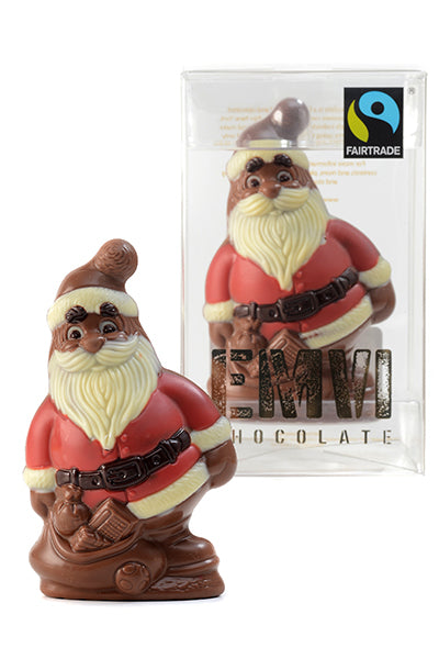 Milk Fair Trade Chocolate Santa Claus