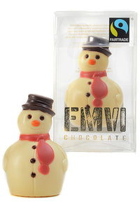 White Chocolate Snowman