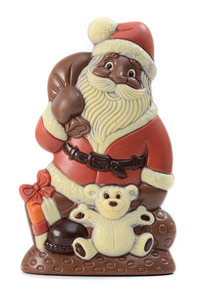 Milk Chocolate Santa with Gifts