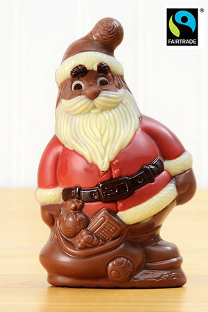 Fair Trade Chocolate Santa