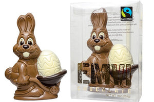 Fair Trade Easter Chocolate Bunny
