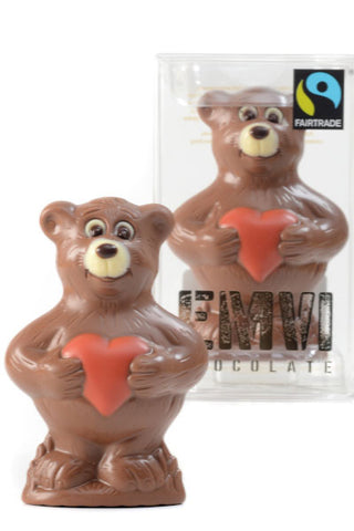 Chocolate Valentine Teddy Bear