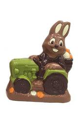 Chocolate Tractor Easter Bunny