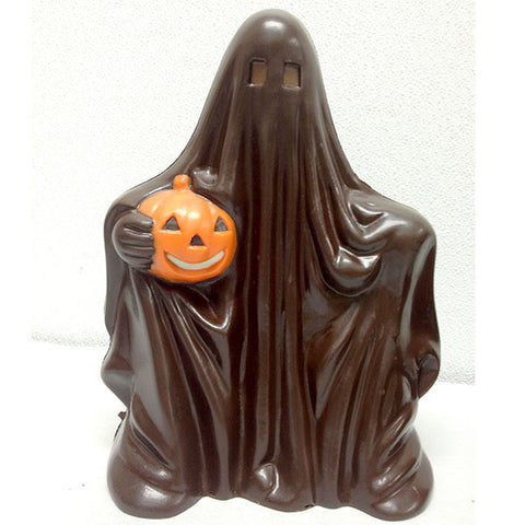 Dark Chocolate Ghost for Halloween