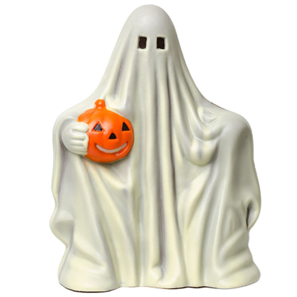 White Chocolate Halloween Centerpiece Ghost