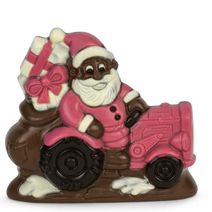 Chocolate Tractor Santa - Red Tractor