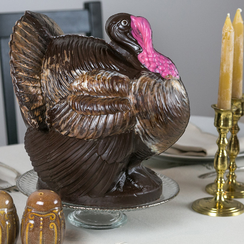 Large Centerpiece Chocolate Turkey