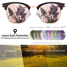 Load image into Gallery viewer, EPIC X Carter Semi Rimless Polarized Sunglasses Women Men Retro Brand Sun Glasses (Retro Leopard Pink)