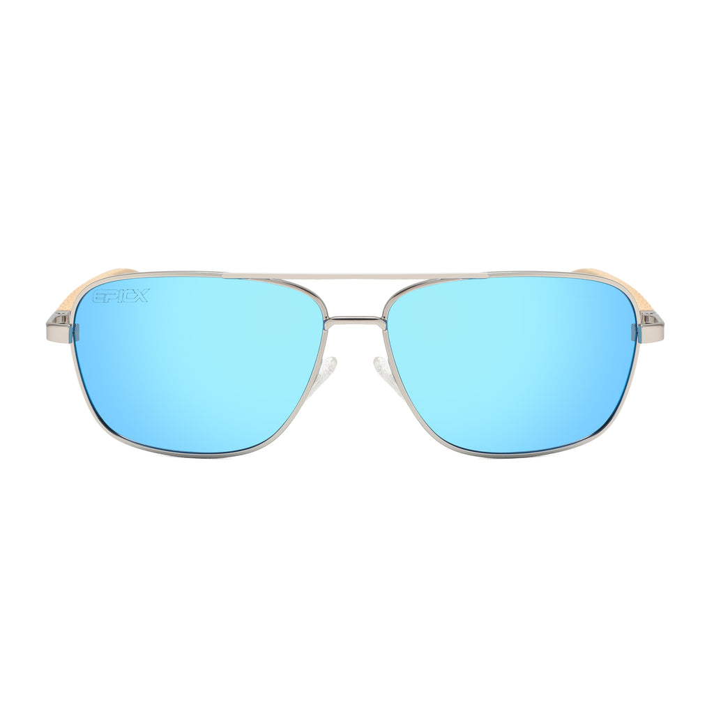 The Fresh - Polarized Sunglasses for Men UV400 Sports Sun Glasses Shades (BLUE)