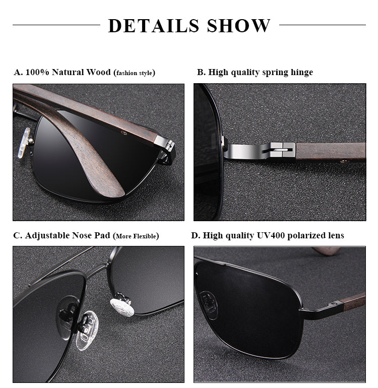 The Hero Polarized Sunglasses for Men UV400 Sports Sun Glasses Shades