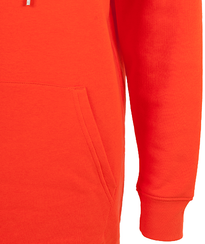Hoodiekleid | orange