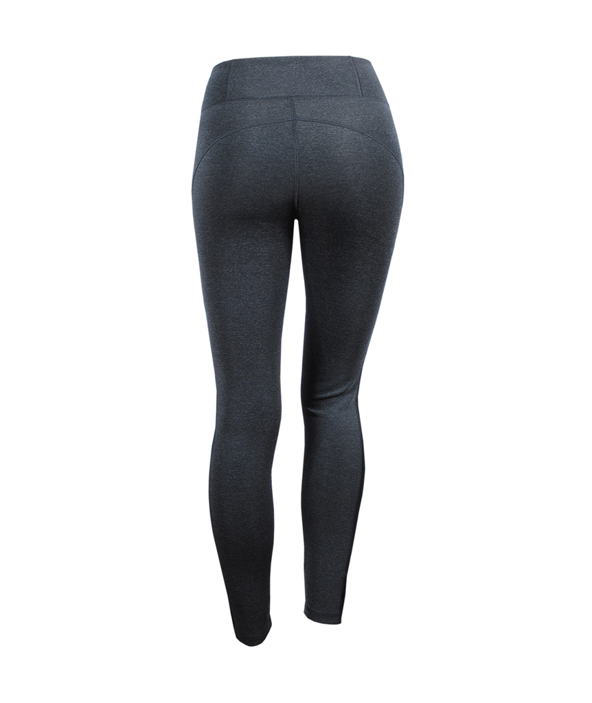 Legging Highwaist Love | graumelange