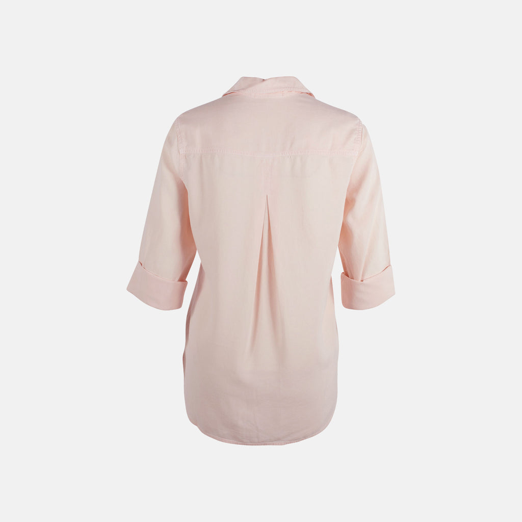 Bella Dahl Bluse Split Back | puder