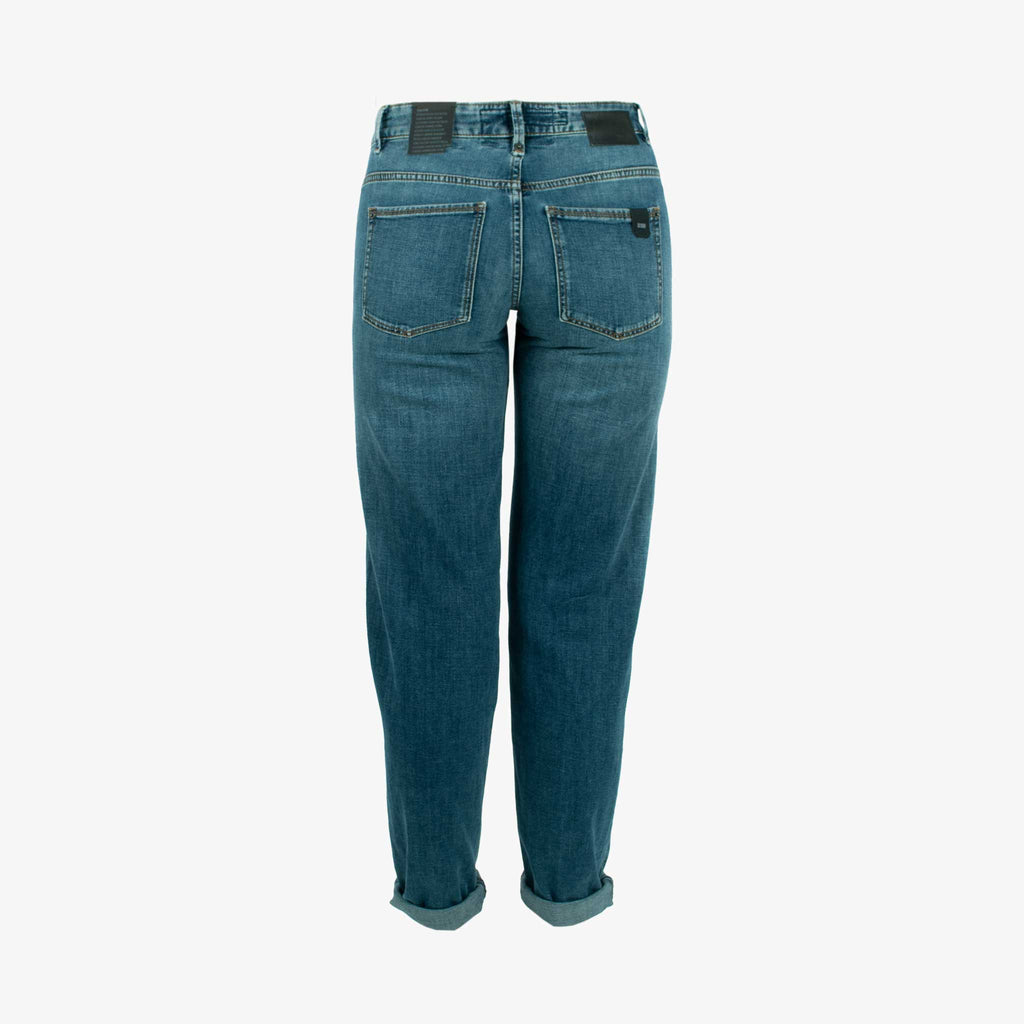 Girlfriend Jeans Like | blau