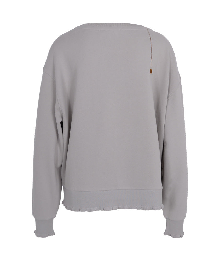 Sweatshirt Basic | grau