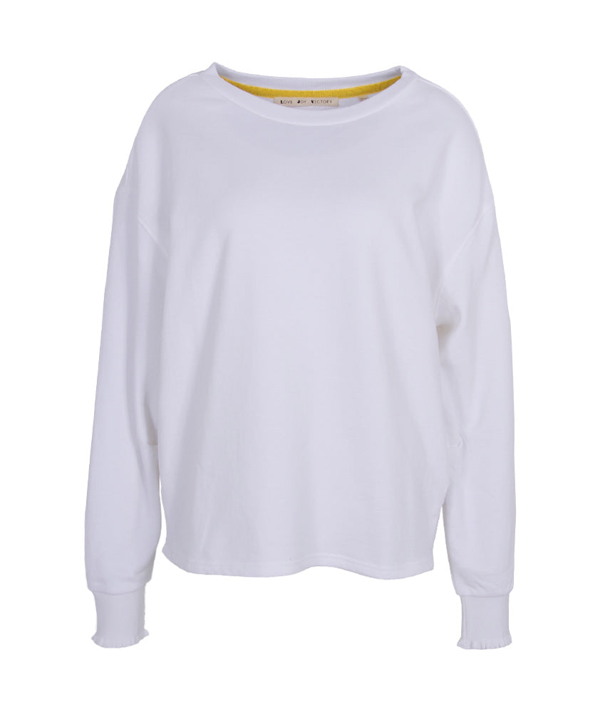 Sweatshirt Basic | weiß