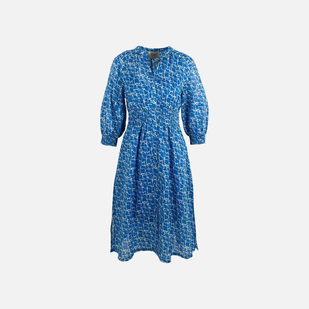 Second Female, Kleid Daily Print | blau