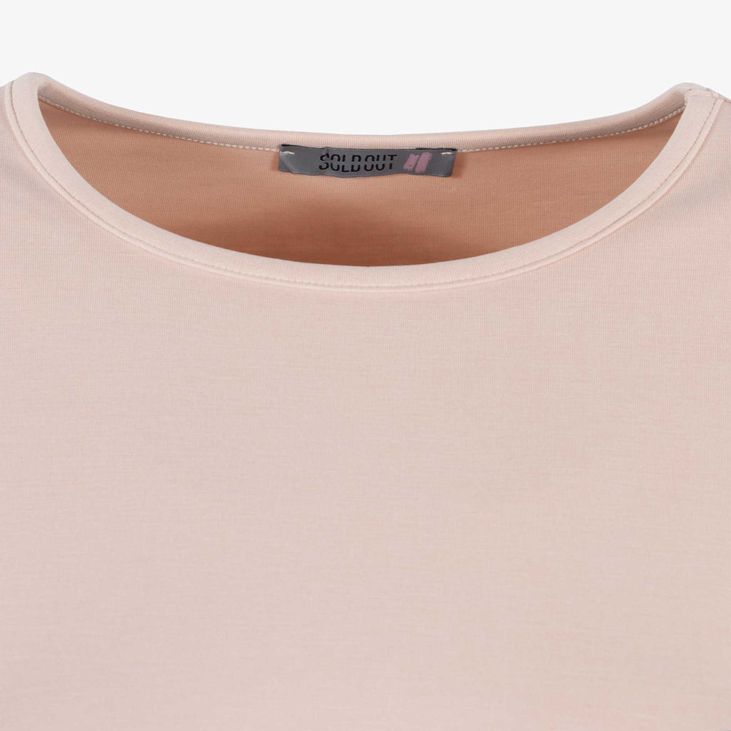 1/1 RH-Shirt oversized, Detail Kragen | rose