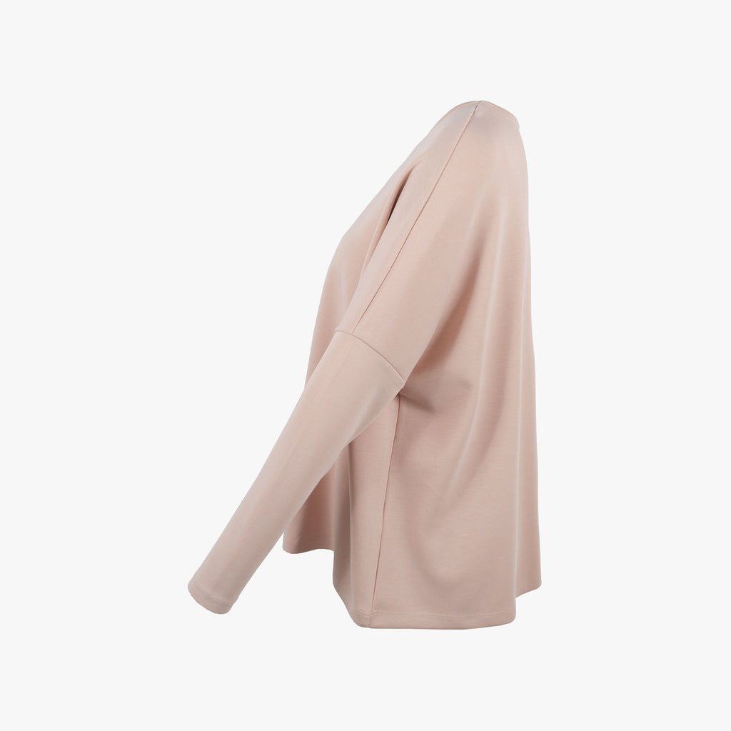 1/1 RH-Shirt oversized, Seintenansicht | rose