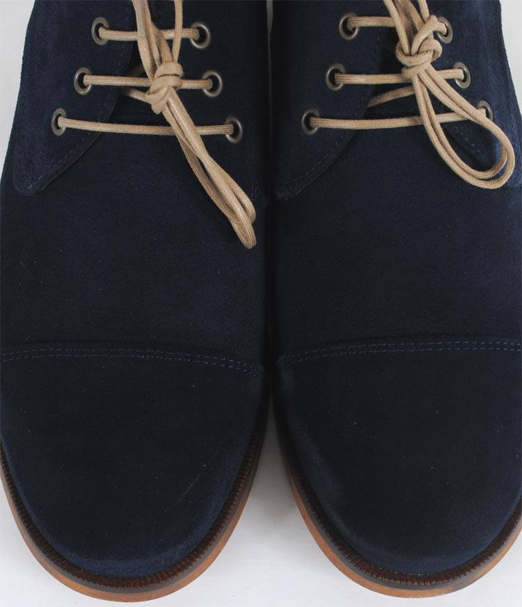 Ave City Midcut-Suede | marine