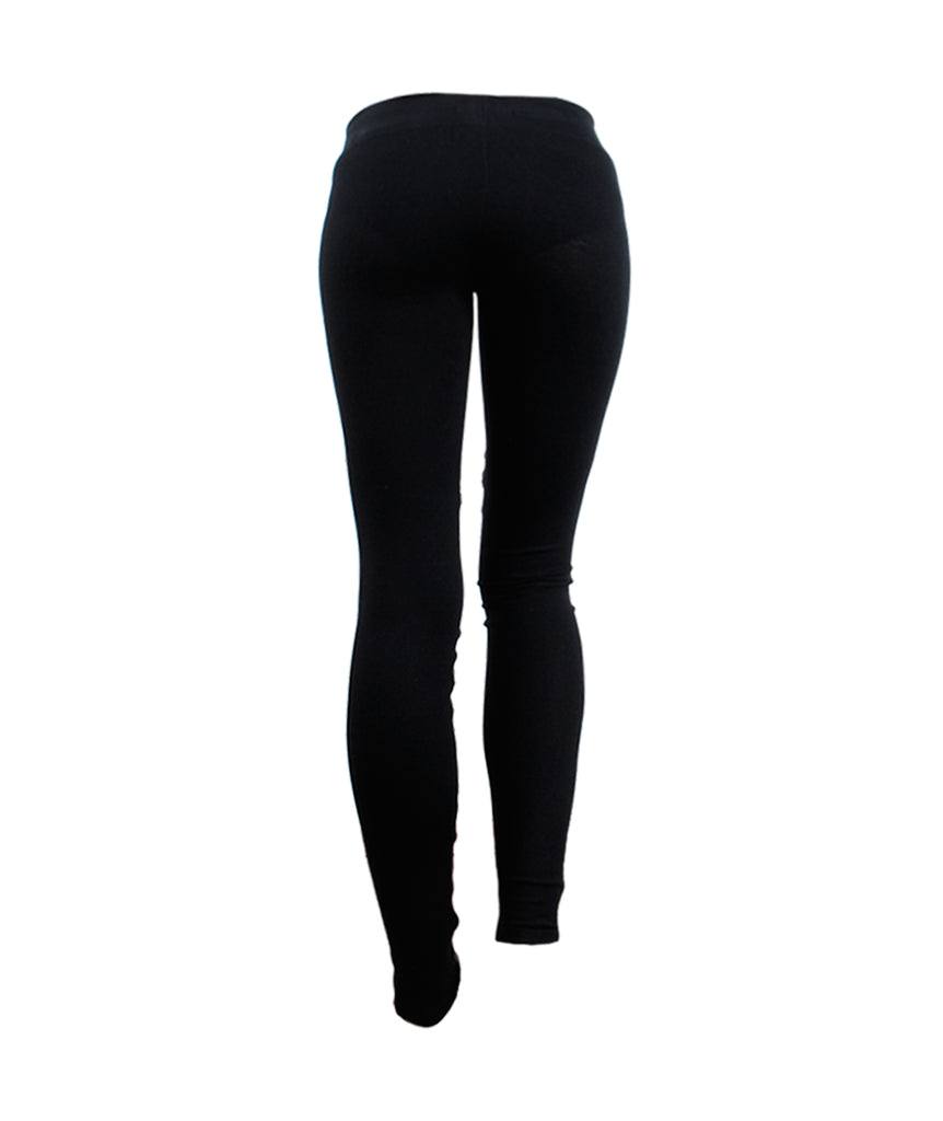 Lederlegging Materialmix | schwarz