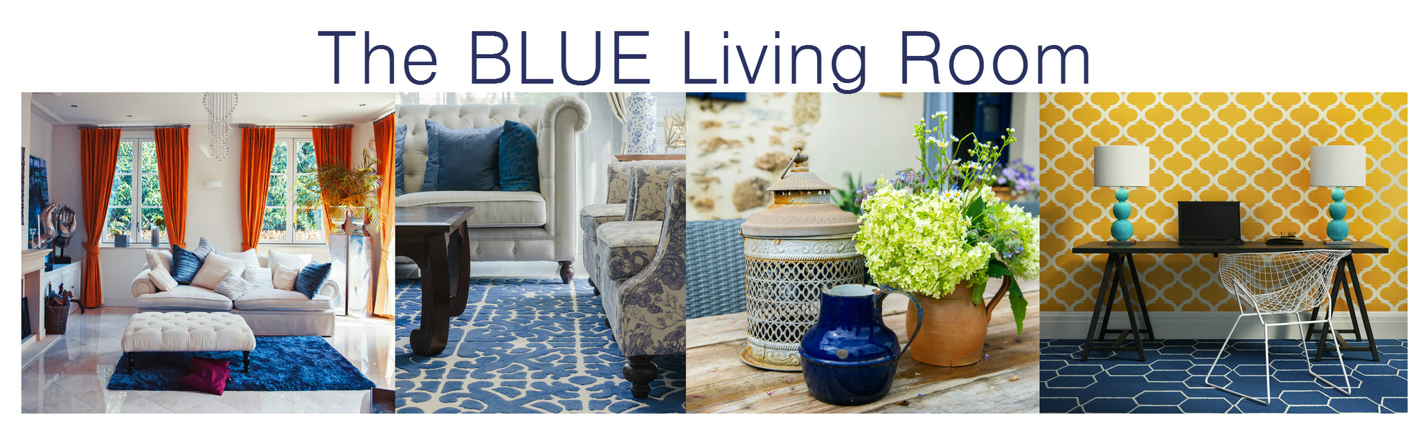 blue decorating ideas