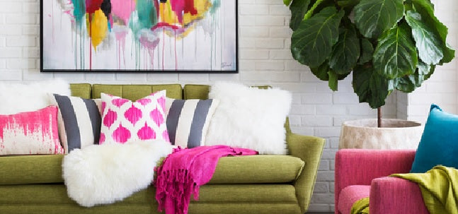 Colorful Tropical Beach House Decorating