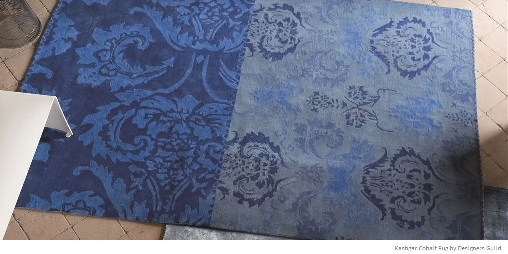 Blue Area Rugs Shop Navy Cobalt And Indigo Designs